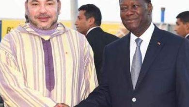 Photo of الملك محمد السادس يهنئ الرئيس الإيفواري بمناسبة العيد الوطني لبلاده