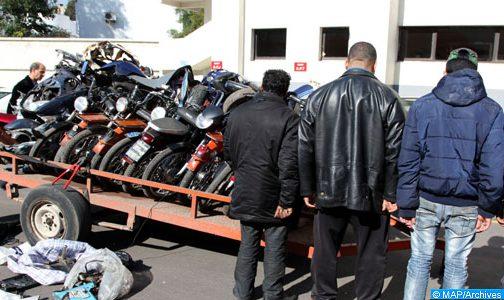 الرشيدية: اعتقال 3 من عصابة إجرامية في التزوير واستعماله لترويج الدراجات النارية المسروقة