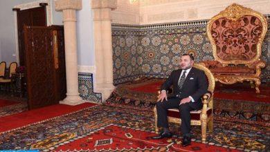 Photo of الملك يستقبل عددا من السفراء الأجانب الذين قدموا لجلالته أوراق اعتمادهم