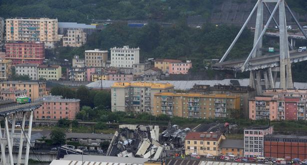 فيديو: حصيلة جديدة .. 22 قتيلا في أكثر انهيارات الجسور دموية بإيطاليا