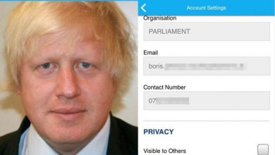 Photo of خلل يؤدي إلى كشف أرقام هواتف الوزراء البريطانيين