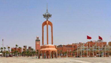 Photo of حلول وفد من الدبلوماسيين المعتمدين بالمغرب بمدينة العيون