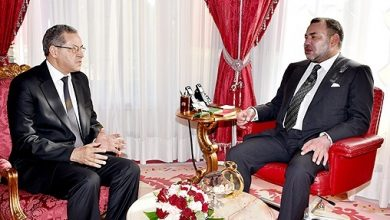 Photo of جلالة الملك يهنئ السيد امحند العنصر بمناسبة إعادة انتخابه أمينا عاما لحزب الحركة الشعبية