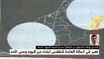 Photo of فيديو: مديرية الأرصاد الجوية تتوقع أمطارا وزخات رعدية إلى غاية يوم الأحد