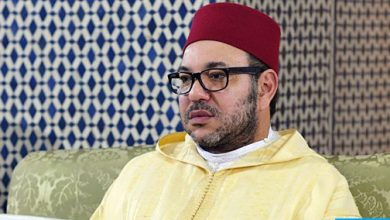 "Photo of أمير المؤمنين يؤدي صلاة الجمعة بمسجد ""الكتبية"" بمدينة مراكش"