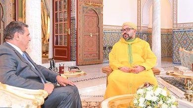Photo of الملك محمد السادس يستقبل عزيز أخنوش