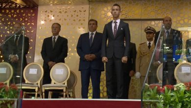 Photo of ولي العهد يسلم الجائزة الكبرى للملك محمد السادس للقفز على الحواجز