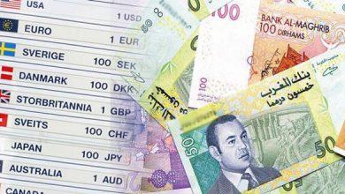 Photo of الثلاثاء 8 أكتوبر: ثمن صرف العملات الأجنبية مقابل الدرهم المغربي