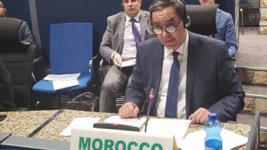 Photo of المغرب يؤكد أمام مجلس الأمن والسلم في الاتحاد الإفريقي الحاجة إلى مقاربة شاملة ومتعدد الأبعاد والقطاعات في محاربة الإرهاب