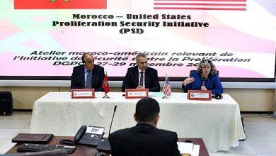 Photo of الرباط: عقد ورشة عمل مغربية أمريكية في إطار المبادرة الأمنية لمكافحة انتشار أسلحة الدمار الشامل