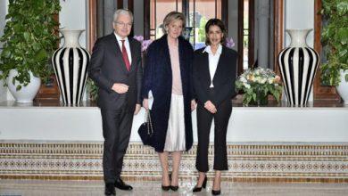 Photo of الأميرة للا مريم تستقبل الأميرة أستريد، ممثلة عاهل بلجيكا