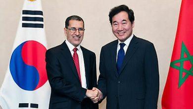 Photo of الوزير الأول بكوريا الجنوبية يقوم بزيارة صداقة وعمل للمغرب