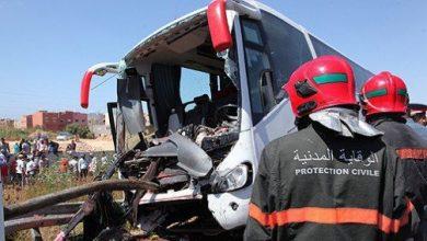 Photo of 26 قتيلا و1976 جريحا حصيلة حوادث السير بالمناطق الحضرية خلال الأسبوع الماضي