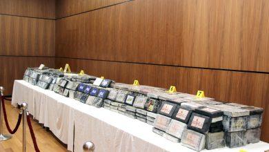 Photo of بالصور: حجز حوالي طن من مخدر الكوكايين عالي التركيز وتوقيف سبعة أشخاص ينتمون لشبكة دولية