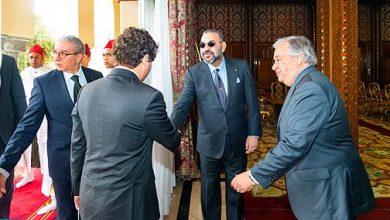 Photo of بلاغ للديوان الملكي: الملك محمد السادس يستقبل الأمين العام للأمم المتحدة
