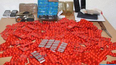Photo of فاس: توقيف شخصين وبحوزتهما 5330 قرصا من مخدر الإكستازي
