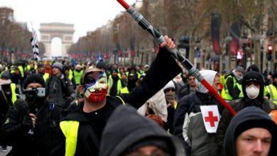 Photo of فرنسا: يوم احتجاجي دون أعمال عنف وتخريب في باريس وسط تراجع في عدد المتظاهرين