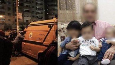 Photo of شاهد شخص يقتل زوجته وأبناءه الثلاثة شمال مصر