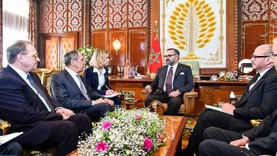 Photo of بلاغ للديوان الملكي: الملك محمد السادس يستقبل وزير الشؤون الخارجية بفدرالية روسيا