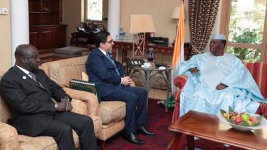 Photo of الرئيس الإيفواري يستقبل بوريطة حاملا رسالة من الملك محمد السادس
