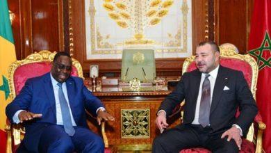 Photo of الملك محمد السادس يهنئ ماكي سال بمناسبة إعادة انتخابه رئيسا لجمهورية السنغال