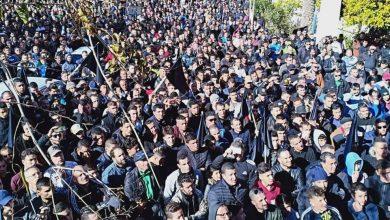 Photo of خراطة الجزائرية: مسيرة بالآلاف ضد العهدة الخامسة لبوتفليقة