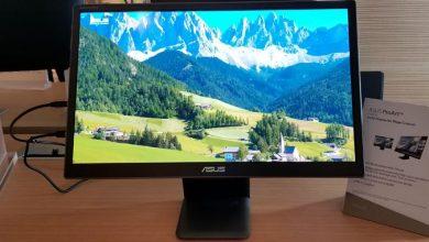 """Photo of """"آسوس"""" تطلق شاشة جديدة بتقنية """"أوليد"""""""