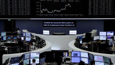 Photo of ارتفاع أسهم أوروبا بفعل محادثات الاندماج بين بنكين ألمانيين