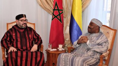 Photo of الرئيس الغابوني يغادر المغرب