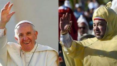 """Photo of اللقاء بين الملك محمد السادس وقداسة البابا فرنسيس يمثل """"حدثا عظيما"""""""