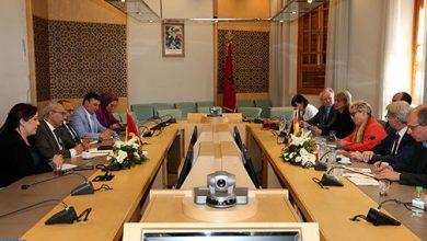 Photo of تعزيز التعاون محور مباحثات مسؤول بمجلس النواب مع وفد مجموعة الصداقة البرلمانية ألمانيا – المغرب العربي