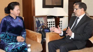 Photo of رئيس الحكومة يستقبل مباحثات مع رئيسة الجمعية الوطنية بجمهورية الفيتنام