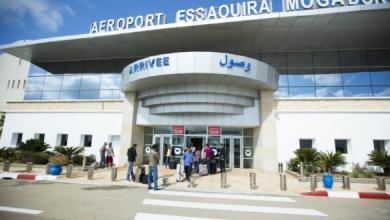 Photo of ارتفاع حركة النقل الجوي بمطار الصويرة بـ 32.39% خلال فبراير المنصرم