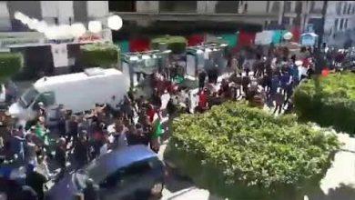 """Photo of شاهد مسيرات حاشدة بالجزائر ضد العهدة الخامسة.. """"الجيش الشعب خاو خاوة"""""""