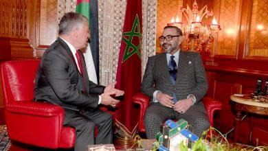 Photo of المغرب والأردن يشددان على ضرورة إنهاء الأزمة السورية ووقوفهما إلى جانب العراق في عملية إعادة الإعمار وتثبيت الاستقرار