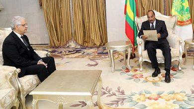 Photo of نزار بركة يسلم رسالة خطية من جلالة الملك إلى الرئيس الموريتاني