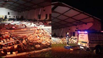 Photo of جنوب إفريقيا.. مقتل 13 شخصا في انهيار كنيسة
