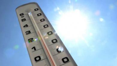 Photo of درجات الحرارة الدنيا والعليا المرتقبة غدا السبت