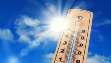 Photo of درجات الحرارة الدنيا والعليا المرتقبة غدا الاثنين