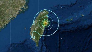 Photo of زلزال بقوة 6,1 درجات يهز تايوان