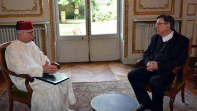 Photo of حريق كاتدرائية نوتردام دو باري: سفير جلالة الملك بفرنسا يجري محادثات مع رئيس أساقفة باريس