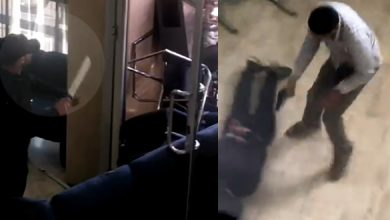 Photo of لحظة اعتقال الشرطة لشخص متلبس بمحاولة سرقة من داخل وكالة بنكية بطنجة