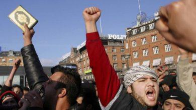 Photo of مسلمو الدنمارك يحتشدون في مسيرة نصرة للقرآن الكريم