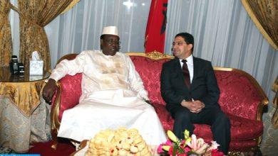 Photo of رسالة من جلالة الملك إلى الرئيس التشادي
