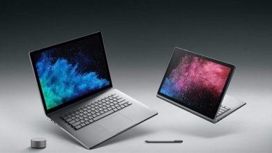 "Photo of مايكروسوفت تطلق نسخة محدثة من ""Surface Book 2"""