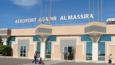 Photo of ارتفاع عدد مستعملي مطار المسيرة أكادير خلال شهر مارس 2019