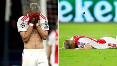 صدمة وحسرة زياش بعد الإقصاء من دوري أبطال أوروبا