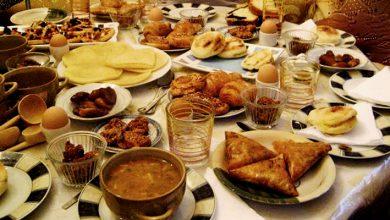 Photo of منظمة الصحة العالمية تحدد الترتيب الأمثل لوجبة إفطار رمضان