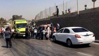 Photo of 16 جريحا في تفجير استهدف حافلة سياحية عند المتحف المصري الكبير