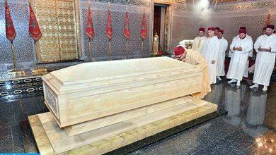Photo of أمير المؤمنين يترحم على روح المغفور له الملك محمد الخامس